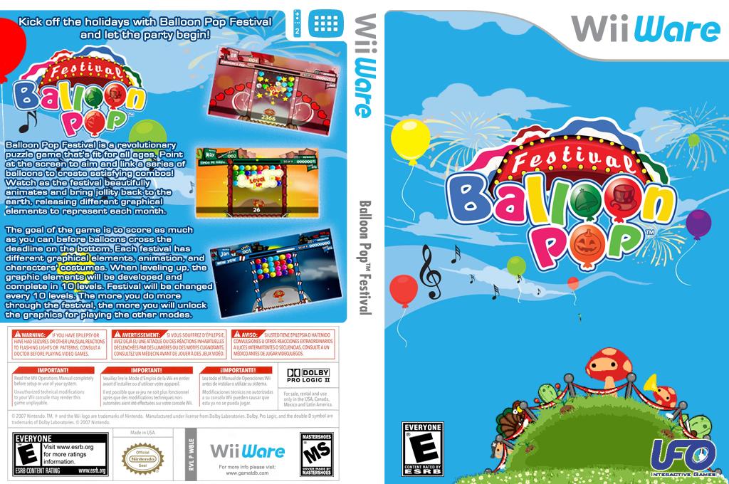Balloon Pop Festival Wii coverfullHQ (W8LE)