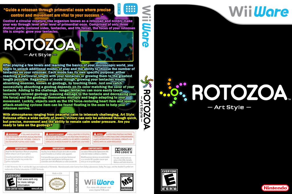 Art Style: Rotozoa Wii coverfullHQ (WA8E)