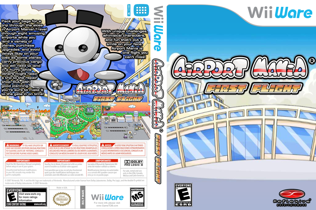 Airport Mania: First Flight Wii coverfullHQ (WAFE)