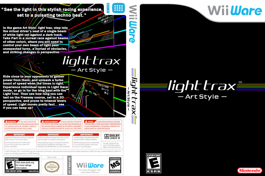 Art Style: Light Trax Wii coverfullHQ (WALE)