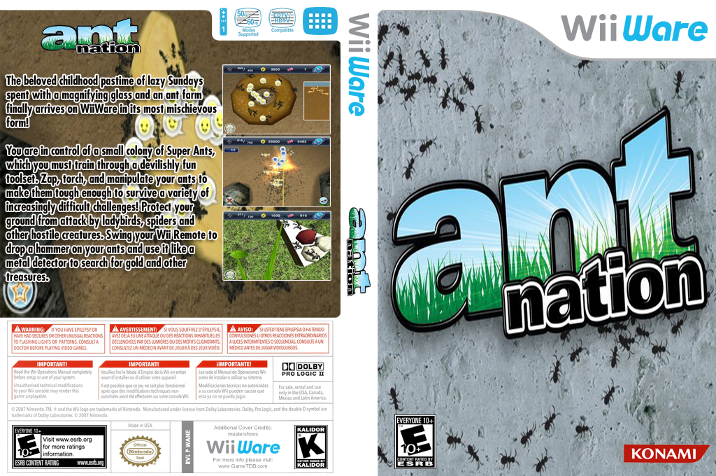 Ant Nation Wii coverfullHQ (WANE)