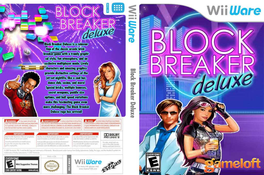 Block Breaker Deluxe Wii coverfullHQ (WB5E)