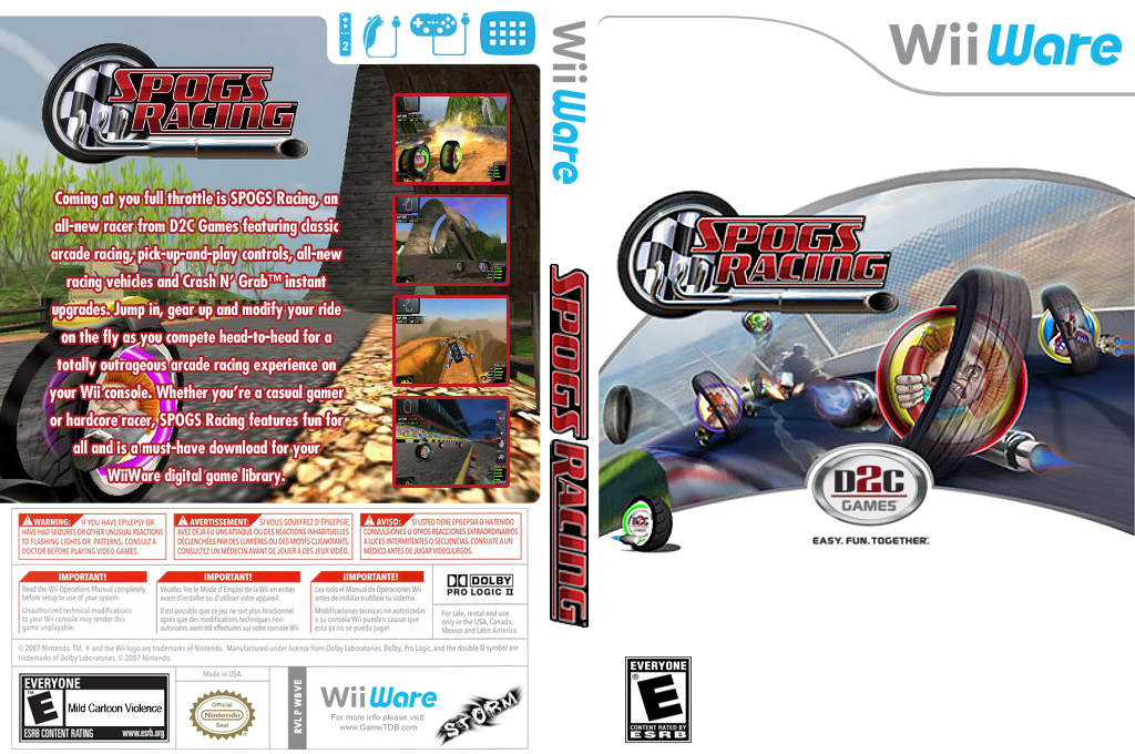 SPOGS Racing Wii coverfullHQ (WBVE)