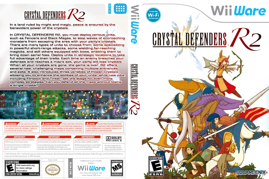 Crystal Defenders R2 Array coverfullHQ (WC2E)