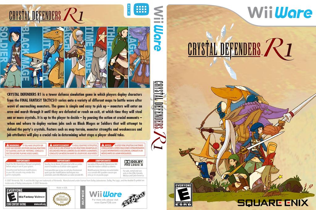 Crystal Defenders R1 Wii coverfullHQ (WCIE)