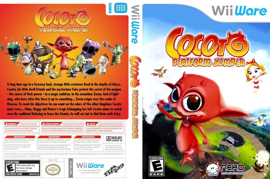 Cocoto Platform Jumper Array coverfullHQ (WCJE)