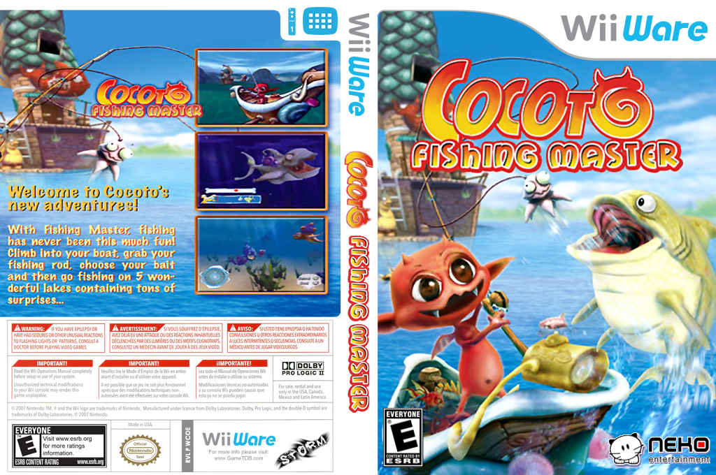 Cocoto Fishing Master Wii coverfullHQ (WCOE)