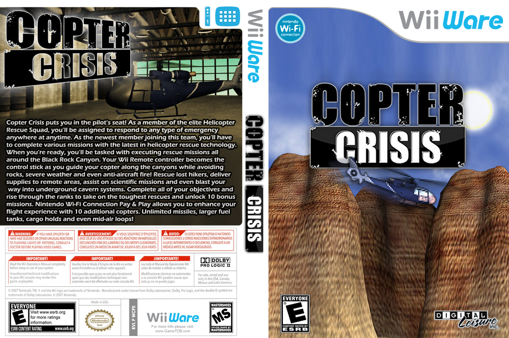 Copter Crisis Wii coverfullHQ (WCPE)