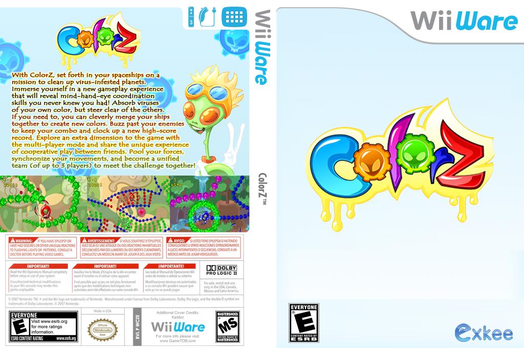 ColorZ Wii coverfullHQ (WCZE)