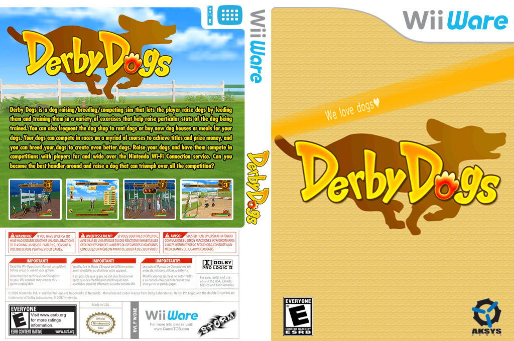 Derby Dogs Wii coverfullHQ (WDBE)