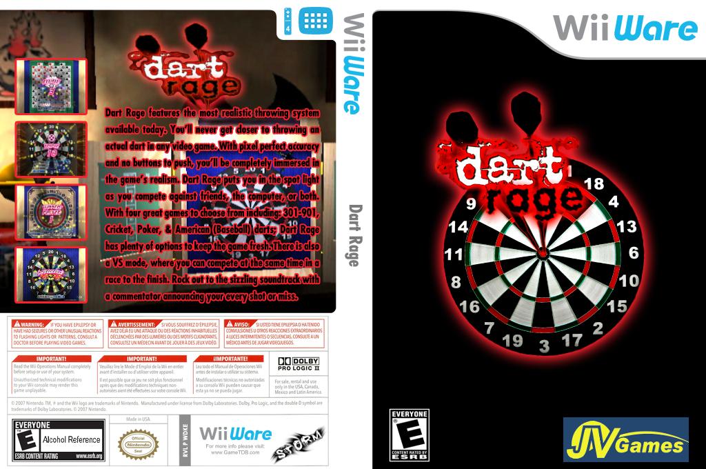 Dart Rage Wii coverfullHQ (WDKE)