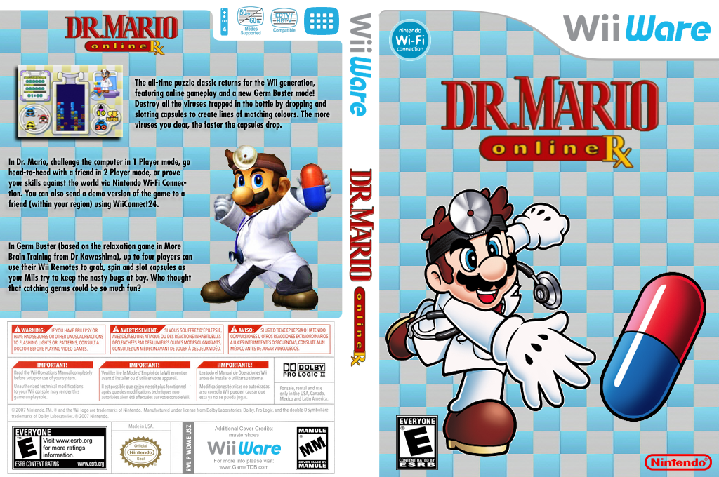 Dr. Mario Online Rx Array coverfullHQ (WDME)