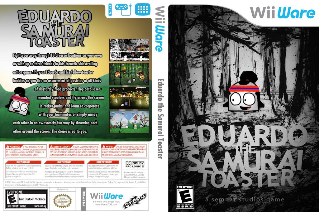 Eduardo the Samurai Toaster Wii coverfullHQ (WEDE)