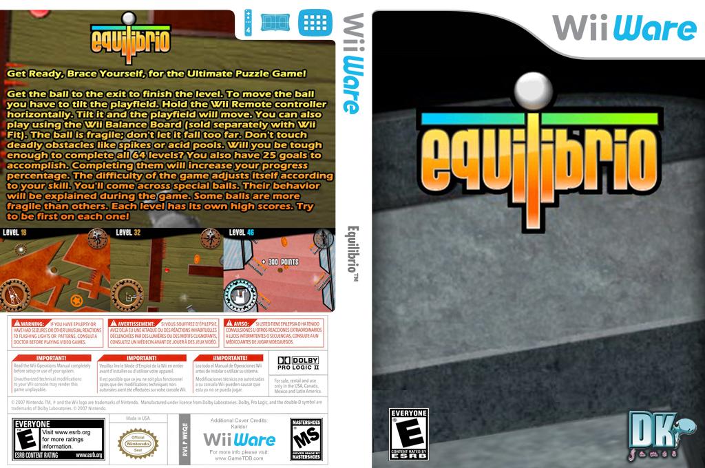 Equilibrio Wii coverfullHQ (WEQE)