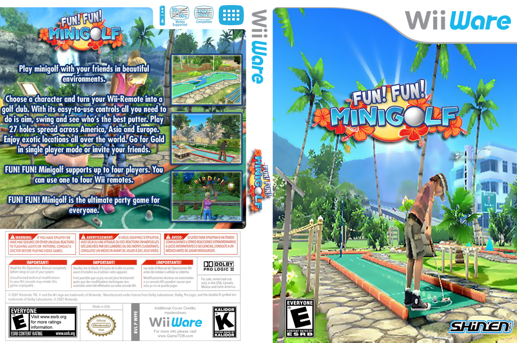 Fun! Fun! Minigolf Wii coverfullHQ (WFFE)