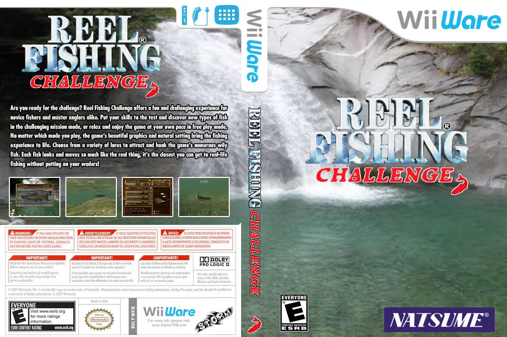 Reel Fishing Challenge Wii coverfullHQ (WFIE)
