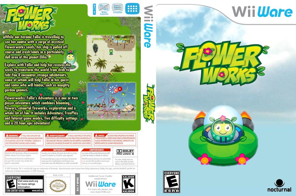 Flower Works Wii coverfullHQ (WFWE)