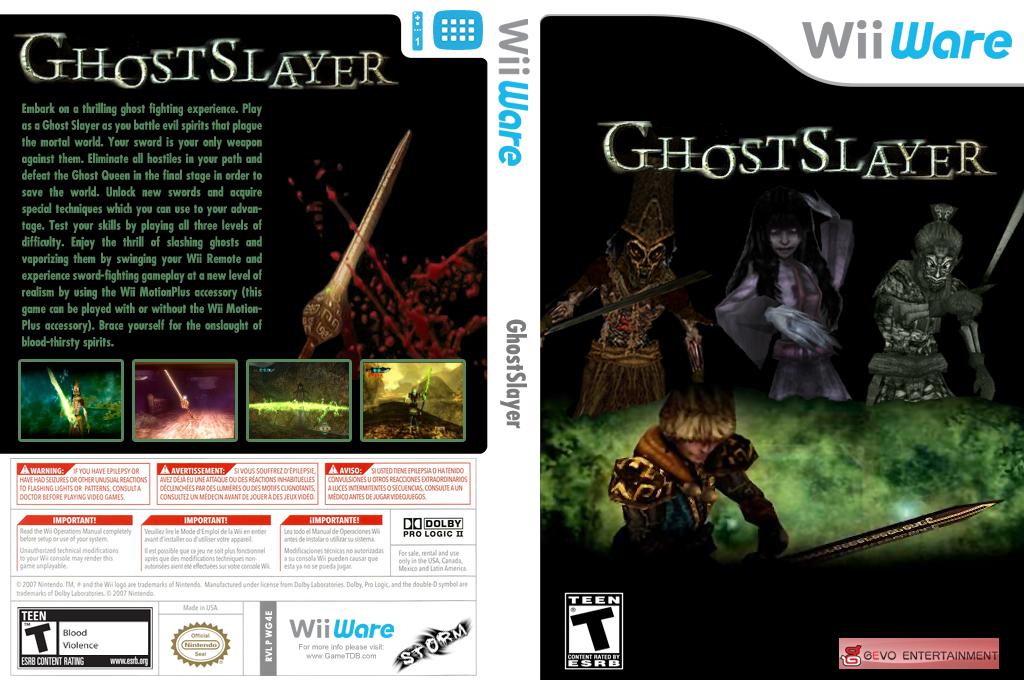 GhostSlayer Wii coverfullHQ (WG4E)