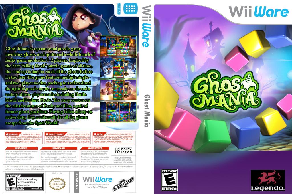 Ghost Mania Wii coverfullHQ (WGAE)