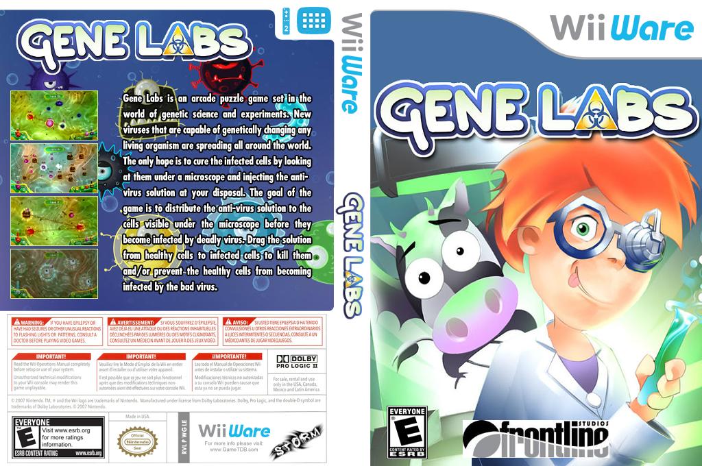 Gene Labs Wii coverfullHQ (WGLE)