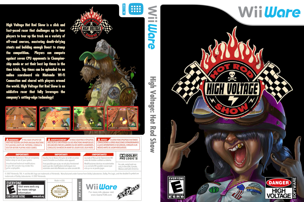 High Voltage: Hot Rod Show Wii coverfullHQ (WHVE)