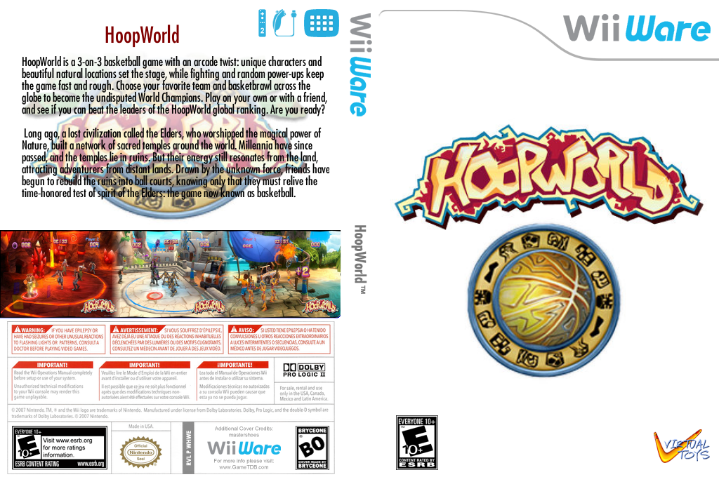 HoopWorld Array coverfullHQ (WHWE)