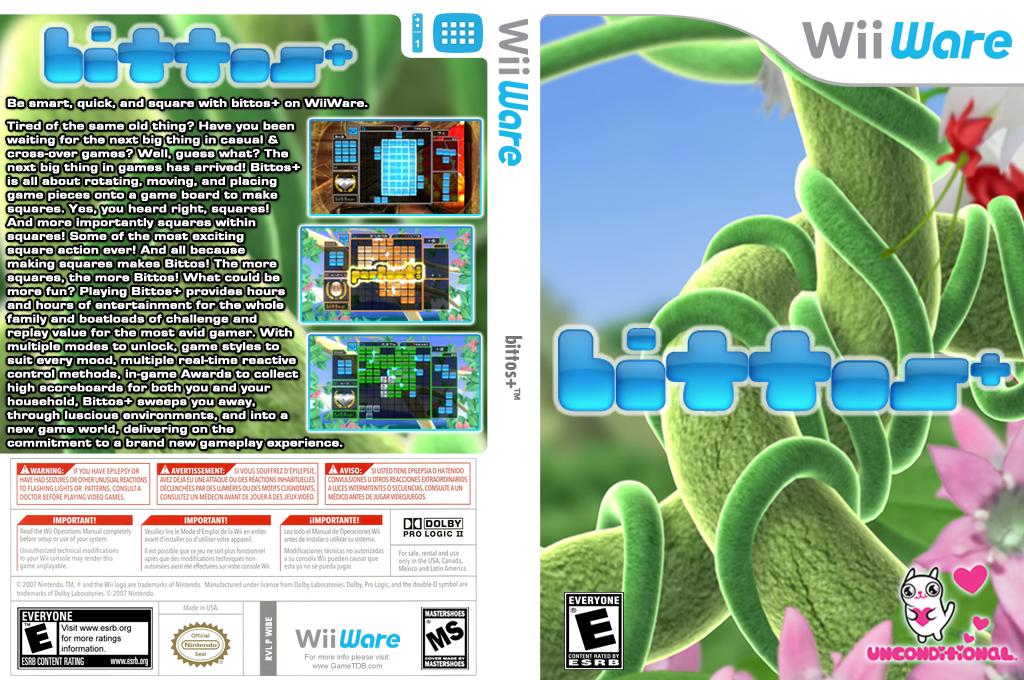 bittos+ Wii coverfullHQ (WIBE)
