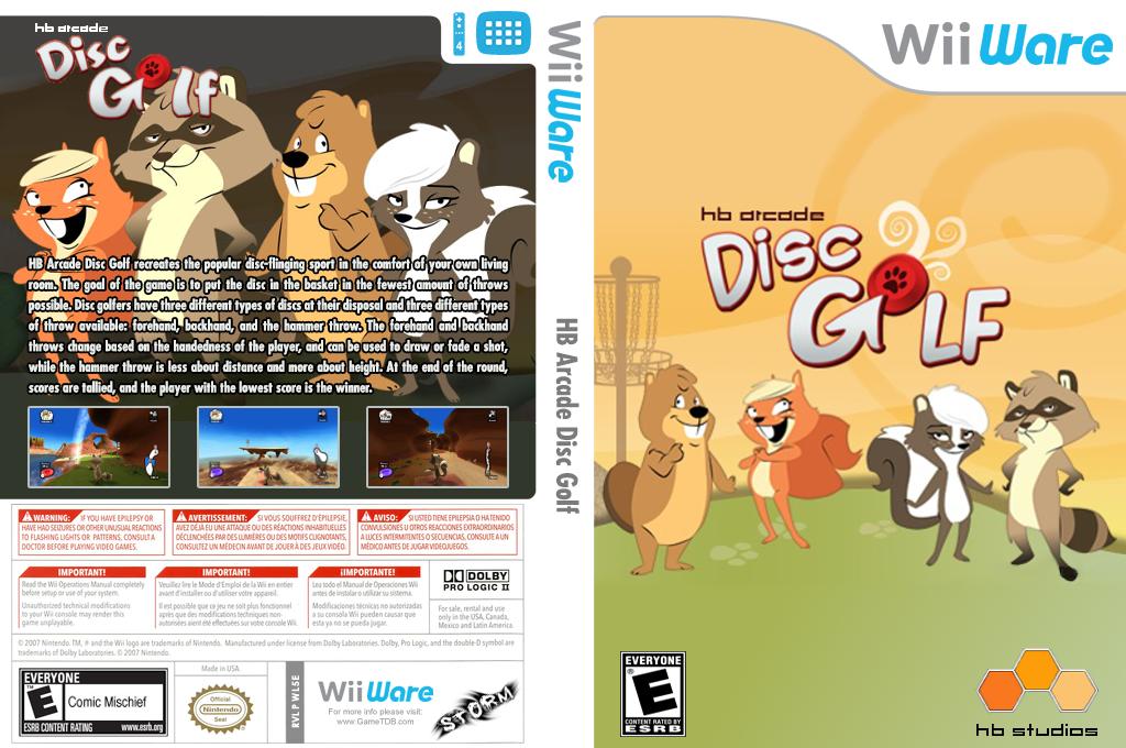 HB Arcade Disc Golf Wii coverfullHQ (WL5E)