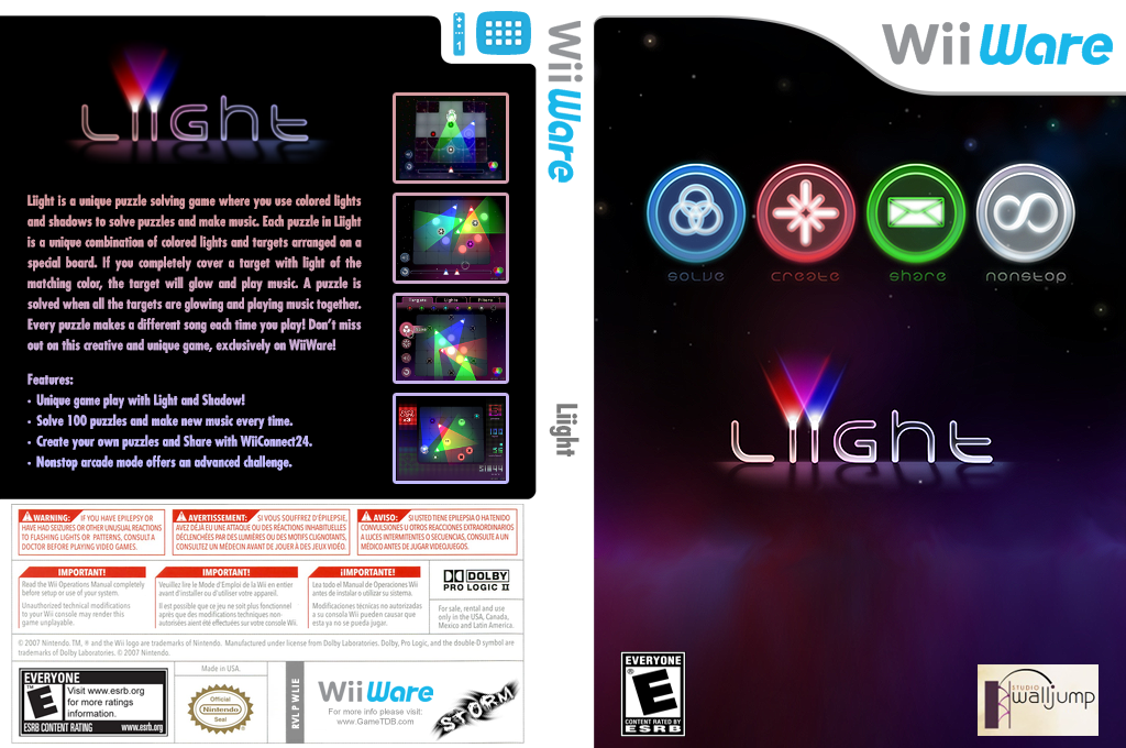 Liight Wii coverfullHQ (WLIE)