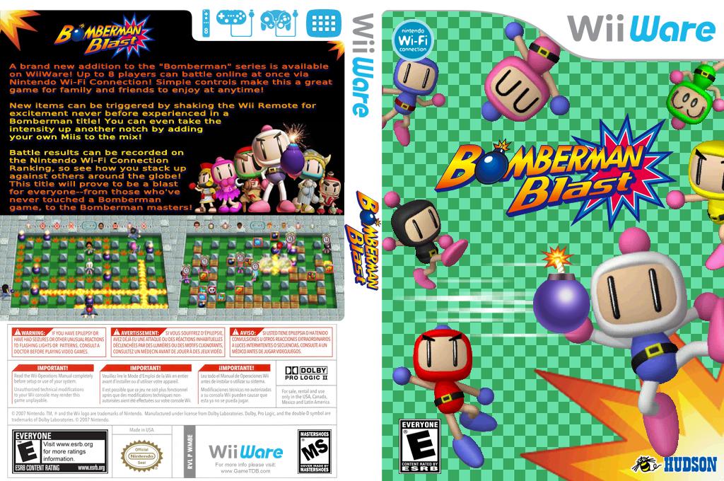 Bomberman Blast Wii coverfullHQ (WM8E)