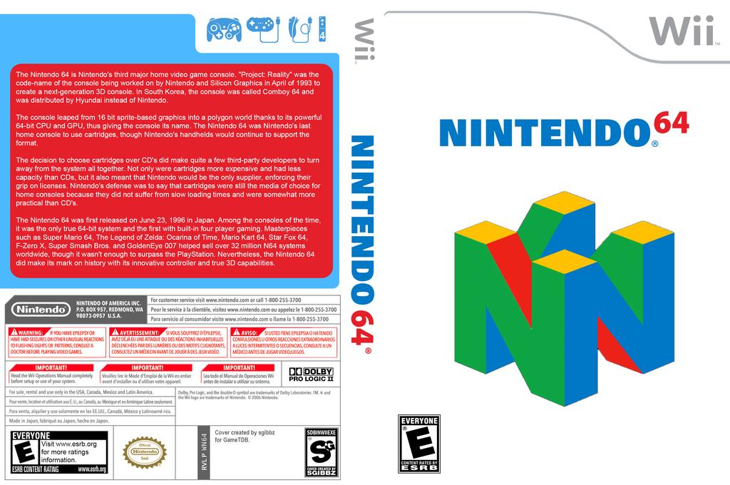 Nintendo 64 Forwarder Wii coverfullHQ (WN64)
