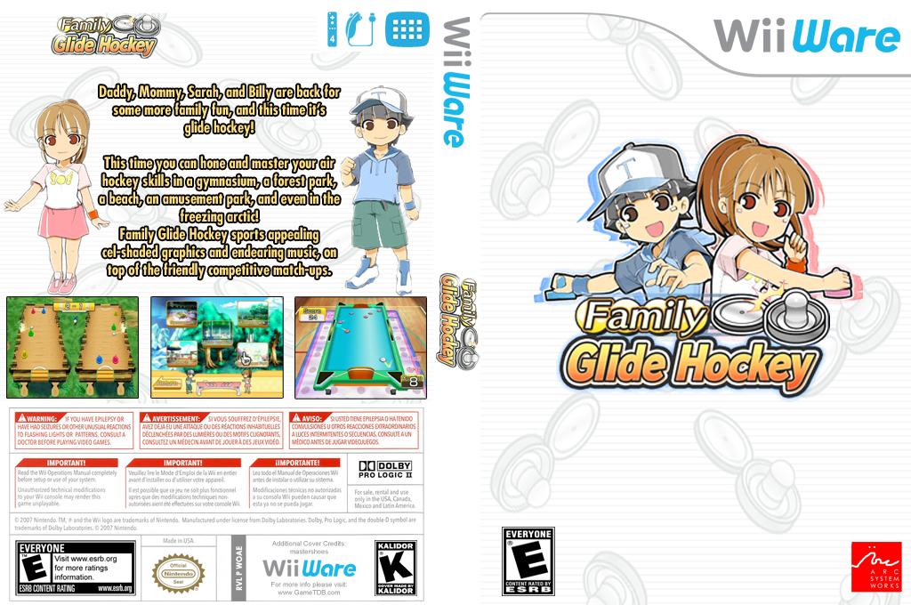 Family Glide Hockey Wii coverfullHQ (WOAE)