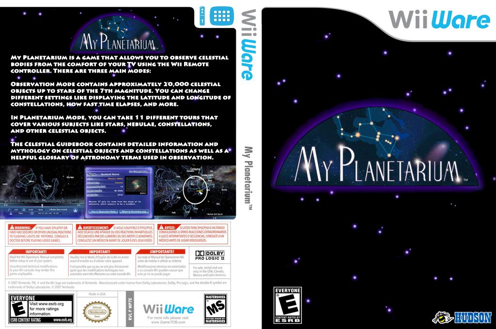 My Planetarium Wii coverfullHQ (WP7E)