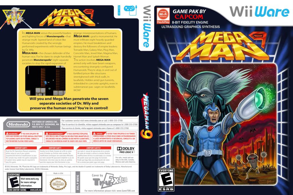 Mega Man 9 Wii coverfullHQ (WR9E)