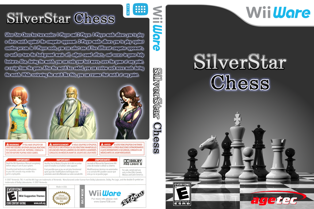 Silver Star: Chess Wii coverfullHQ (WS3E)
