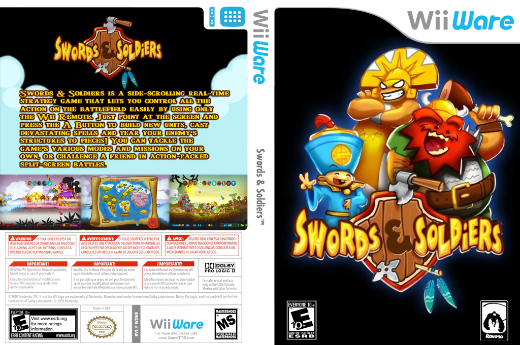 Swords & Soldiers Wii coverfullHQ (WSWE)