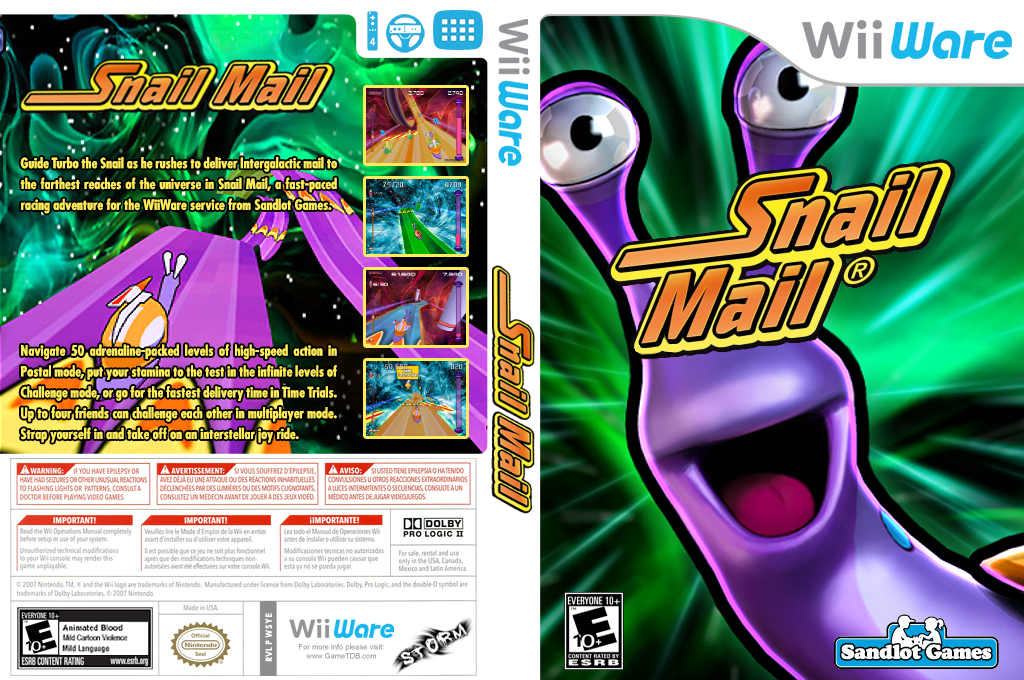 Snail Mail Wii coverfullHQ (WSYE)