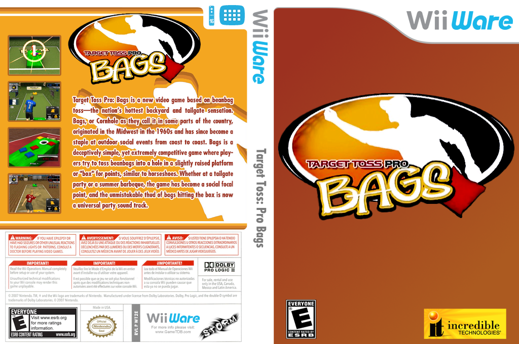 Target Toss: Pro Bags Wii coverfullHQ (WT2E)