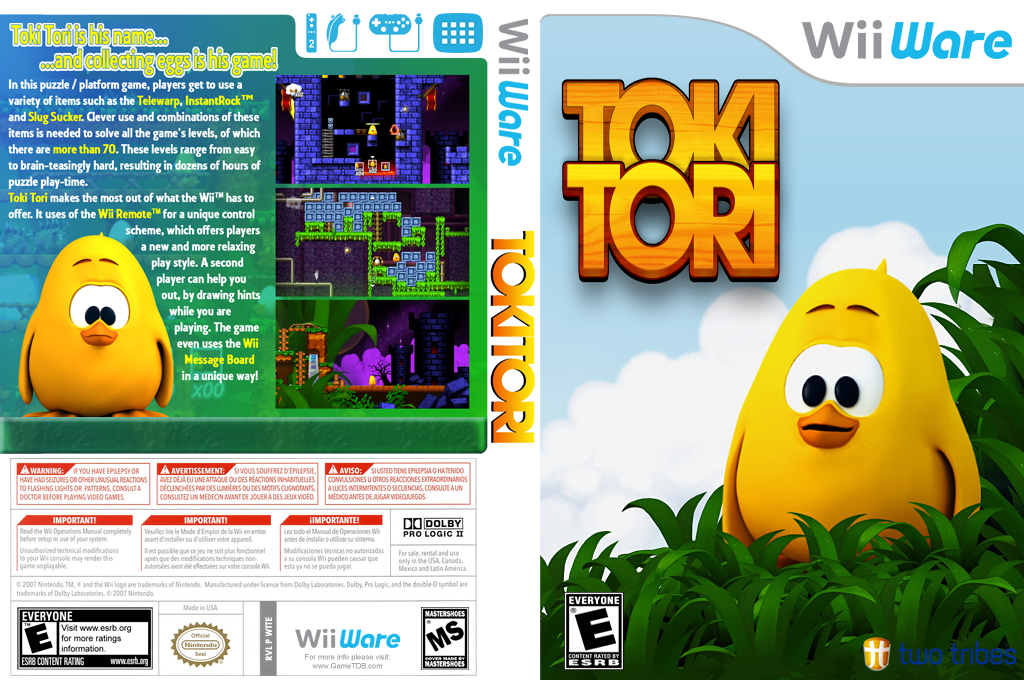 Toki Tori Array coverfullHQ (WTTE)