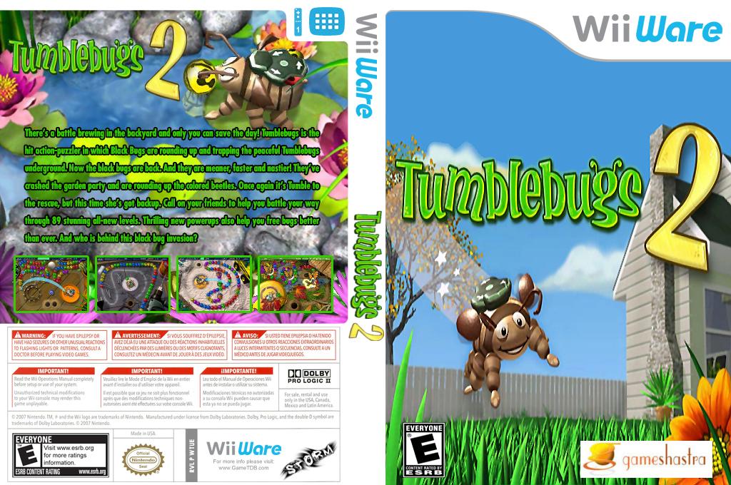 Tumblebugs 2 Wii coverfullHQ (WTUE)