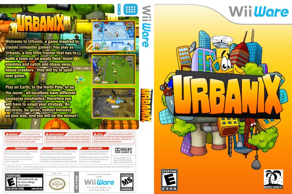 Urbanix Wii coverfullHQ (WURE)