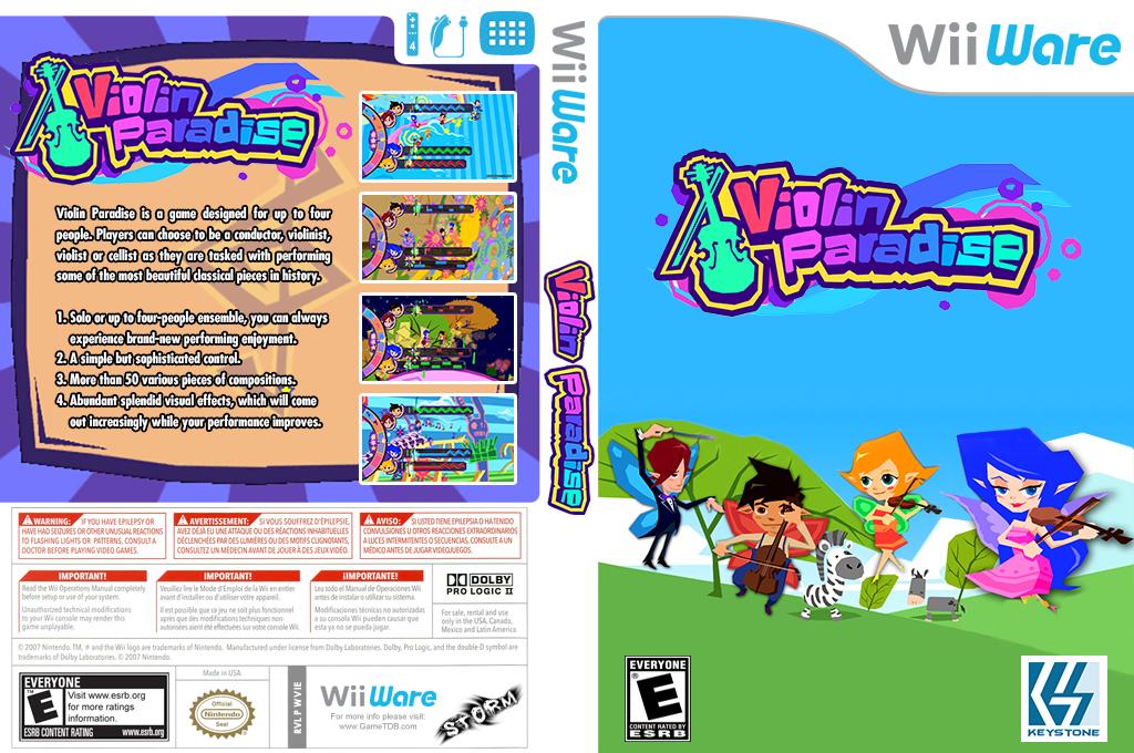 Violin Paradise Wii coverfullHQ (WVIE)