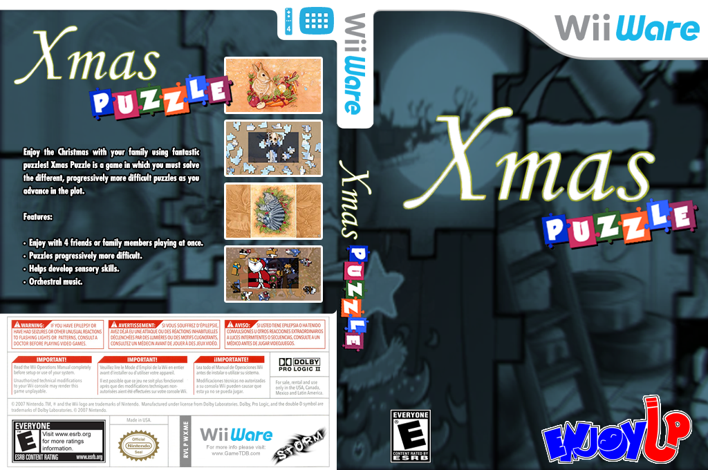 Xmas Puzzle Wii coverfullHQ (WXME)