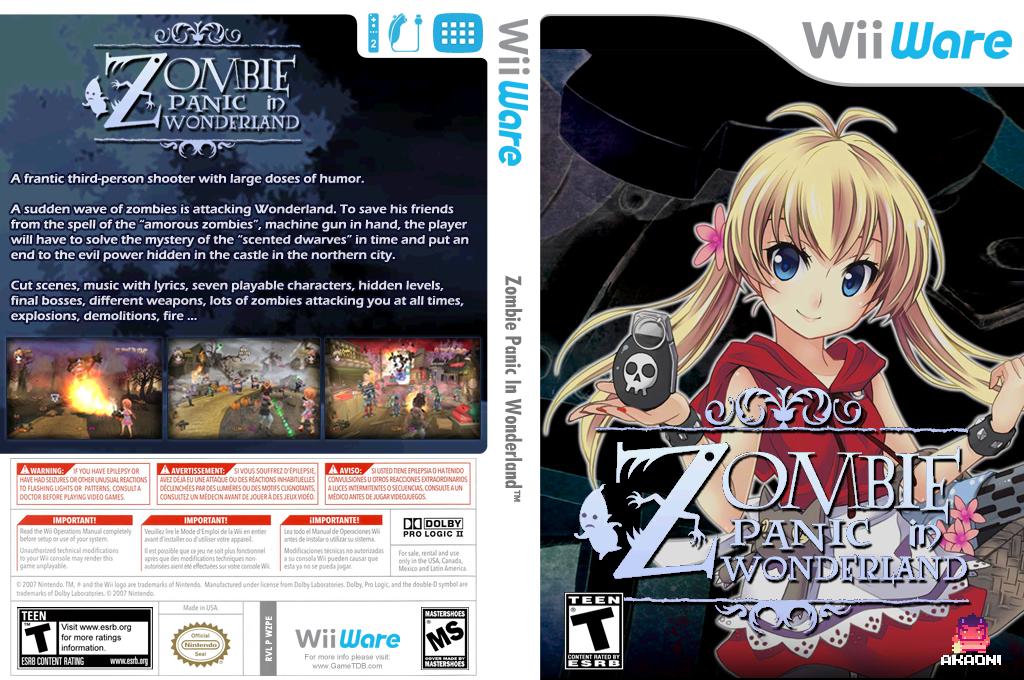 Zombie Panic in Wonderland Wii coverfullHQ (WZPE)