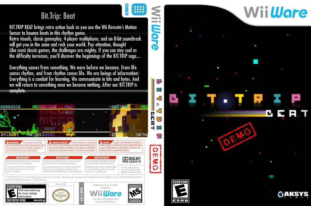 BIT.TRIP BEAT (Demo) Wii coverfullHQ (XHEE)