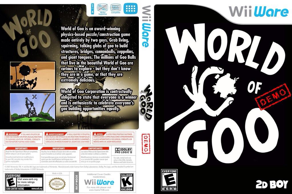 World of Goo (Demo) Wii coverfullHQ (XHFE)
