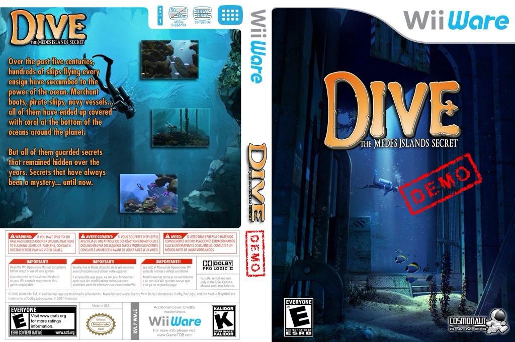 Dive: The Medes Island Secret (Demo) Wii coverfullHQ (XHKE)