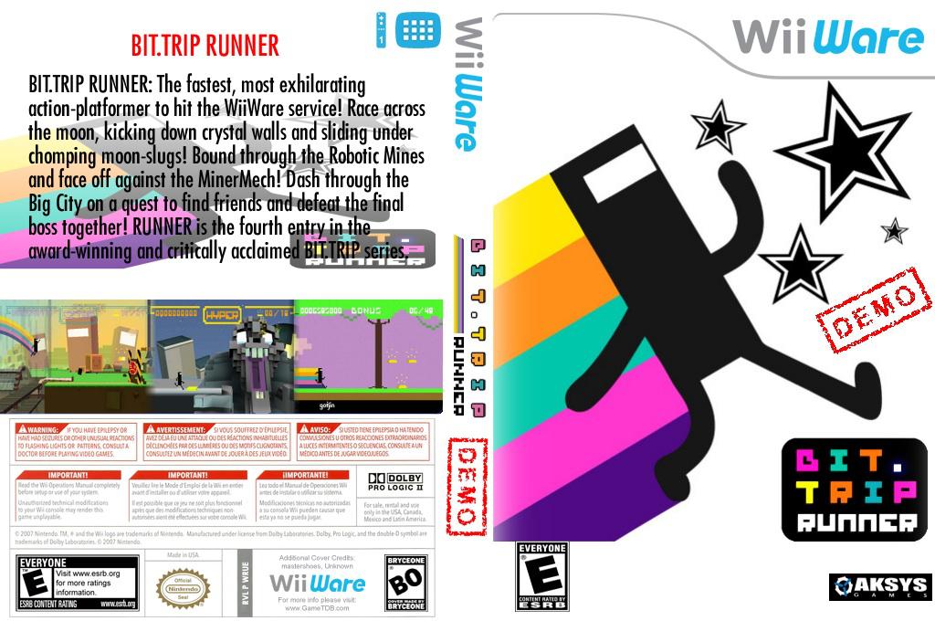 BIT.TRIP RUNNER (Demo) Wii coverfullHQ (XHXE)
