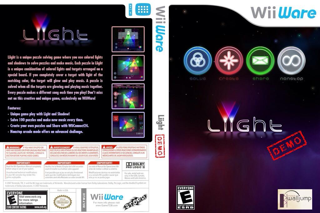 Liight (Demo) Wii coverfullHQ (XI7E)