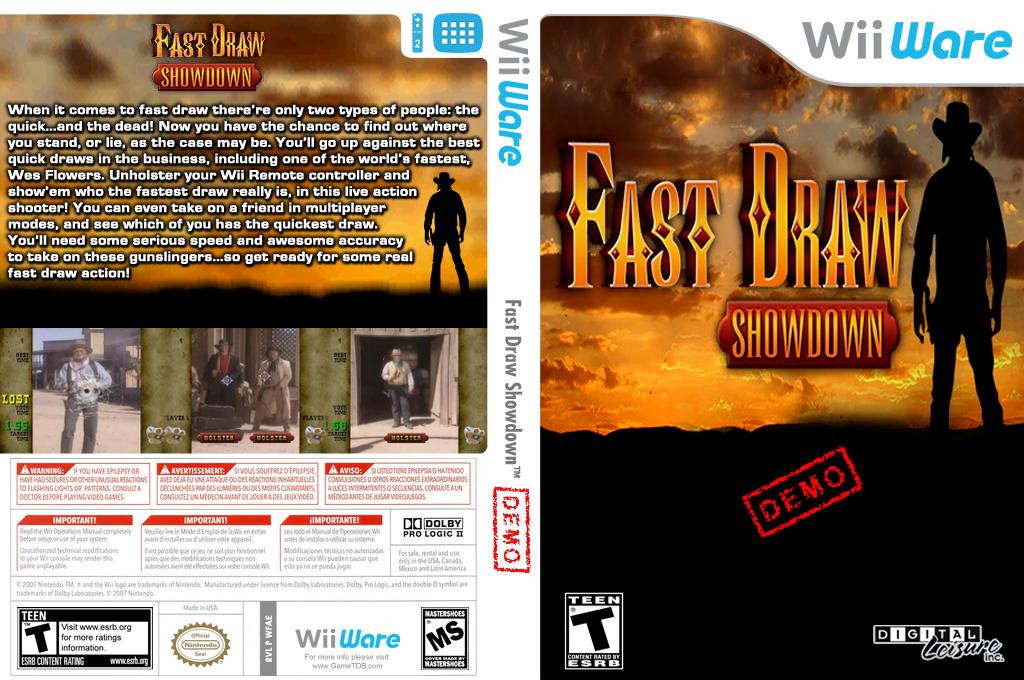 Fast Draw Demo Wii coverfullHQ (XITE)